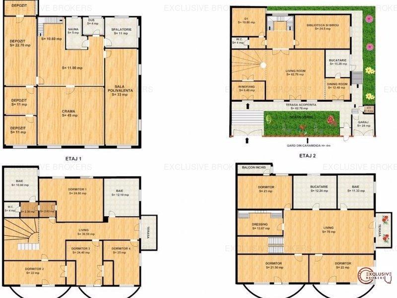 Vila spatioasa 8 dormitoare Domenii!