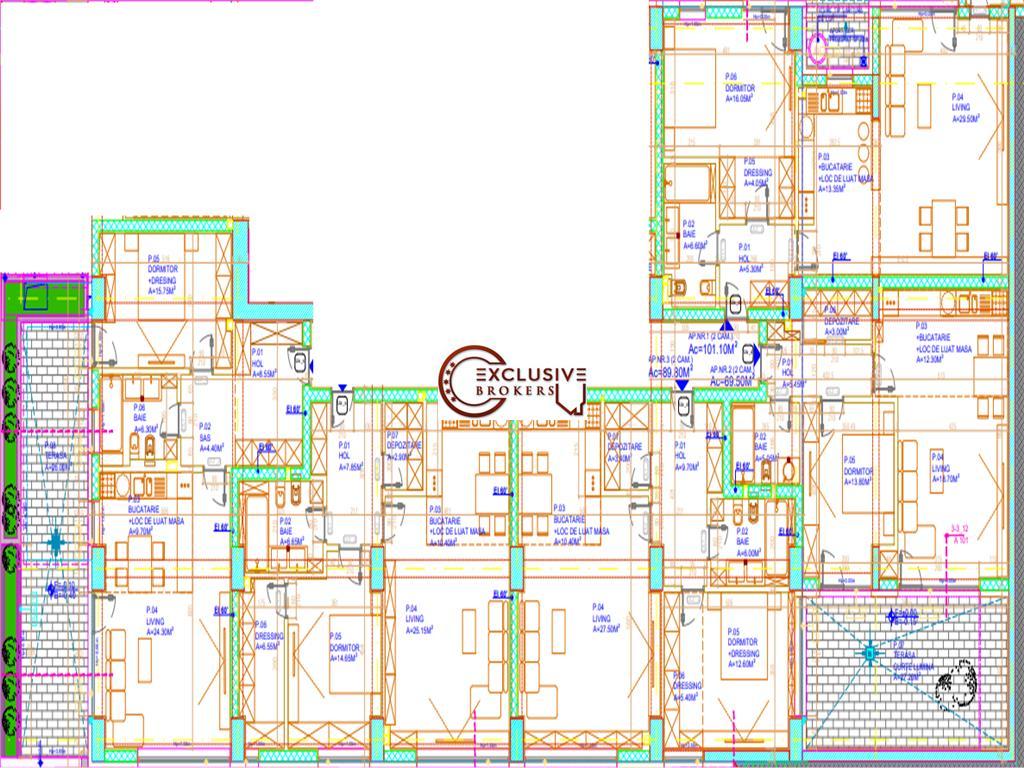 Apartamente pretabile unei CLINICi sau OFFICE | YELD 911% | FLOREASCA