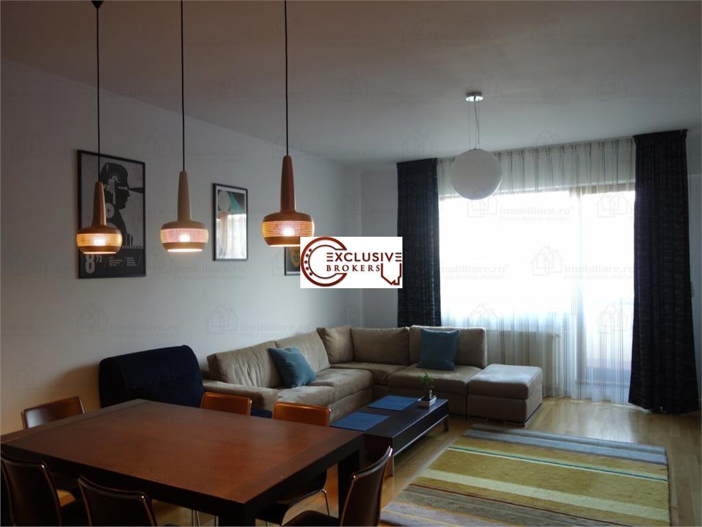 Apartament 3 camere Herastrau ultrafinisat!