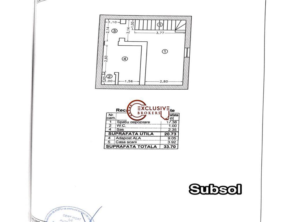 VILA S+P+1E+M CONSTRUCTIE DE EXCEPTIE| GRADINA 860 MP|