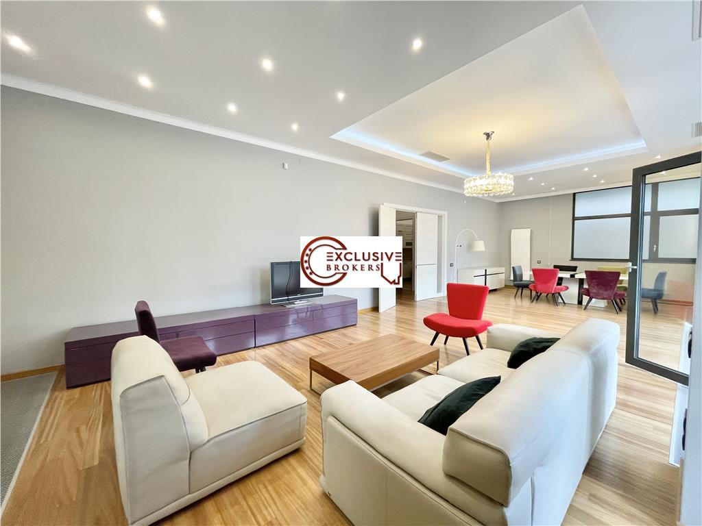 Spectacular Apartment 266 sqm| High Ceiling| Luxury finishing| Gradina Icoanei|