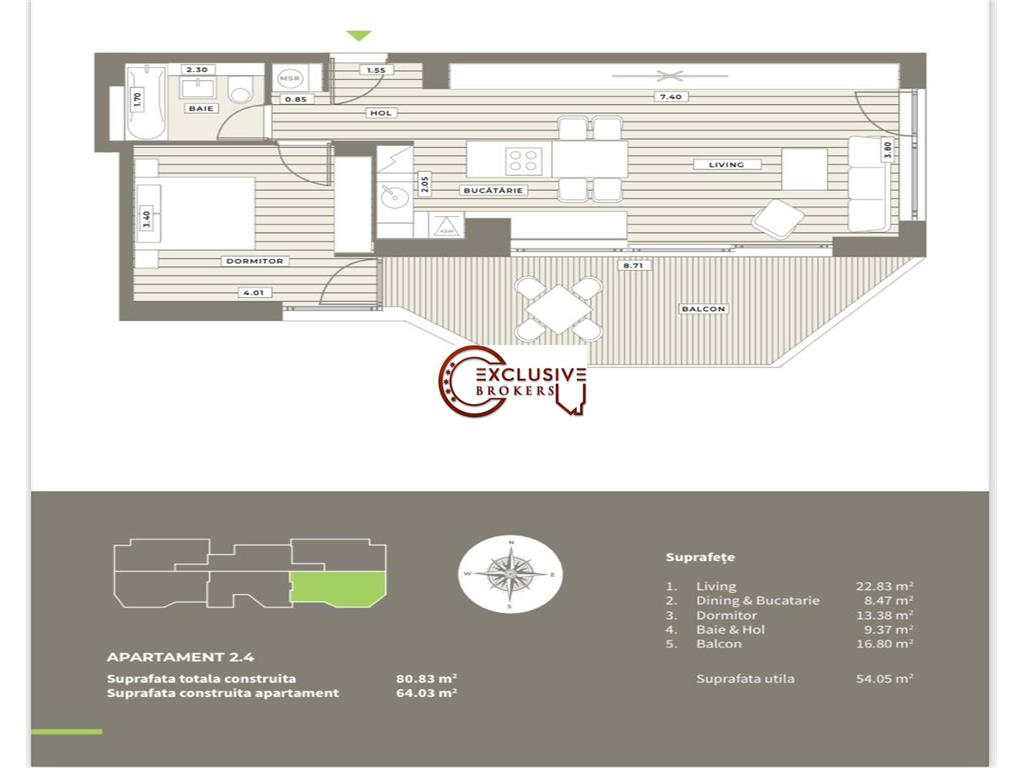 LUXURY BOUTIQUE BUILDING//AVIATIEI AREA//COMISION 0//