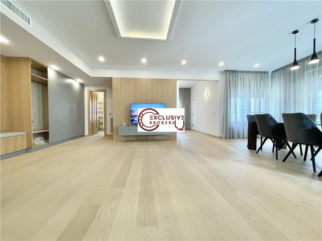 Apartament ultrafinisat| Floreasca |Parcare subterana|