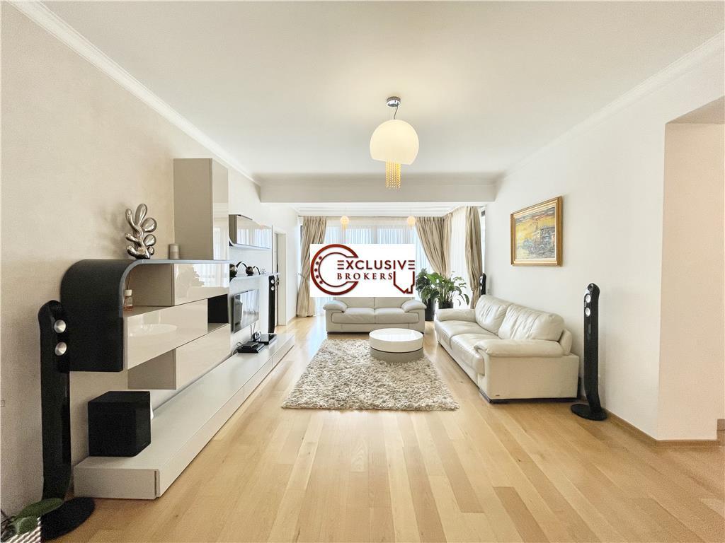 Apartament spatios/finisaje moderne/Langa Parcul Herastrau