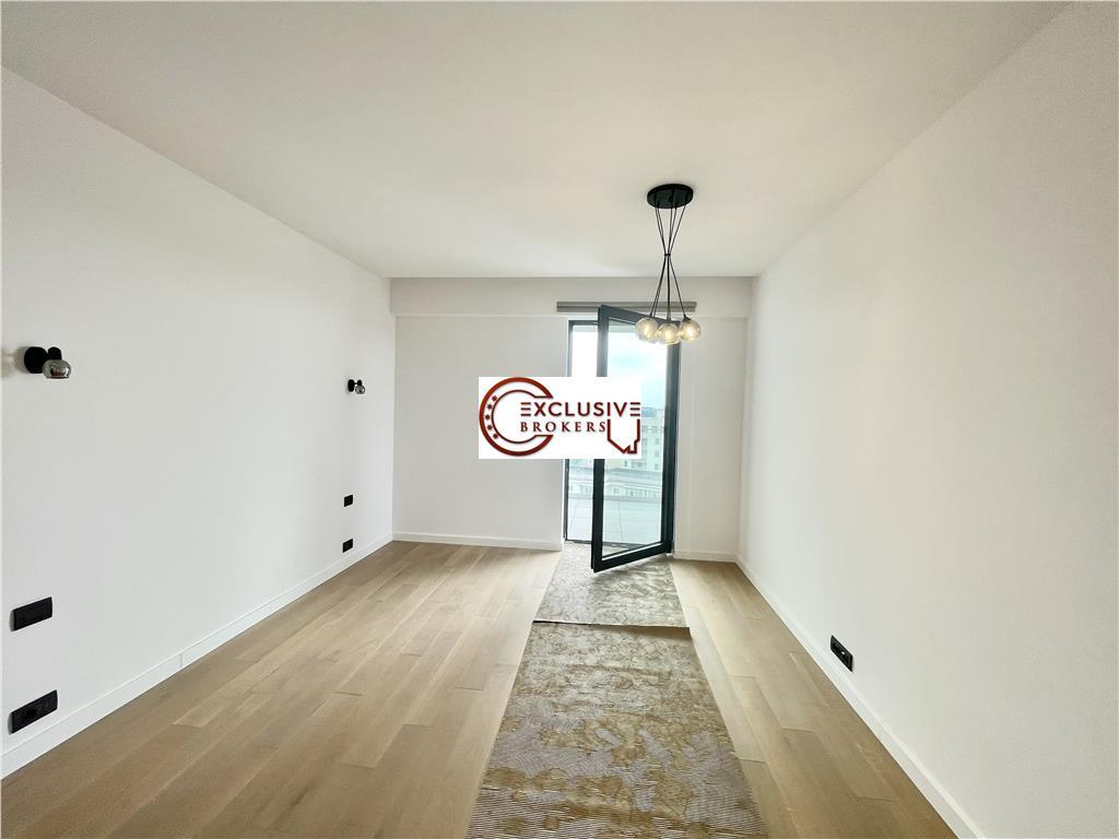 Spacious 2 Rooms Apartment |One Herastrau Towers|Parking