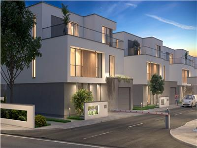 Residence 5 | Mediteranean Design House | P+1 | 4 Rooms| Pipera | Pool | 2 Parking lot| Tip D