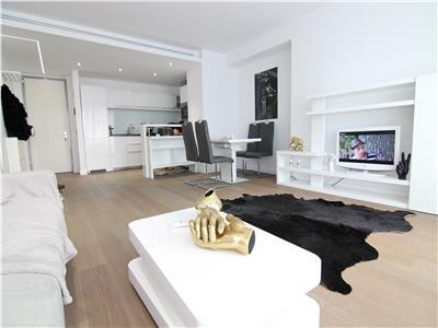 Apartament spatios mobilat Lux Herastrau!