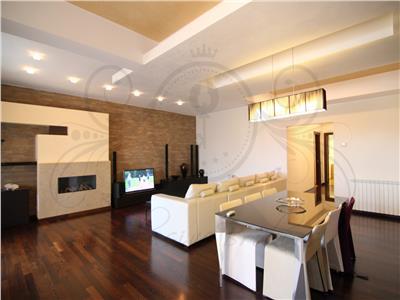 Apartament spatios Herastrau-Sos Nordului| 2 parcari| Mobilat Rovere|