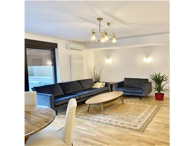 NOU! Apartament 3 camere Floreasca| Parcare subterana| terasa 40 mp|