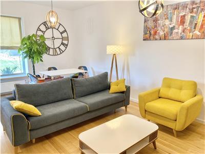Apartament superb Aviatiei Park|Parcare subterana| Gradina 30 mp|