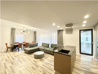 3 rooms luxury apartment|One Herastrau Park| 2 parkings|