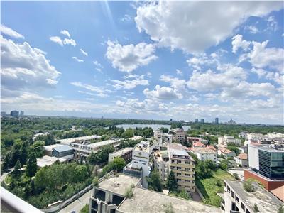 One Herastrau Park, vedere panoramica!Mobilat si utilat Lux!