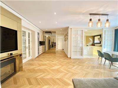 4 luxury rooms Herastrau 2 parking places 135 sqm terrace 