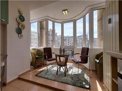 Apartament spatios cu 2 camere vedere Blvd. Decebal