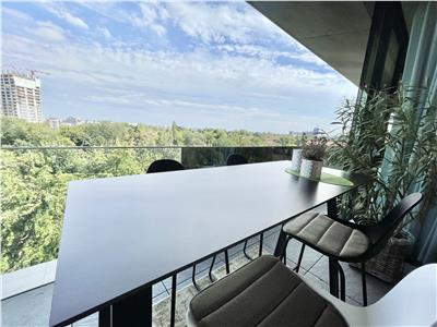 Luxury property for rent Floreasca Area  200 sqm  Panoramic View 